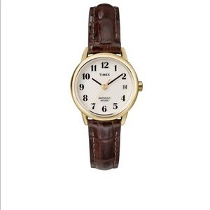 Timex Leather Vintage Watch